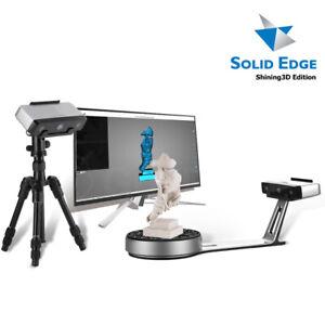 2021 Desktop 3D Scanner EinScan-SP w/ Tripod & SolidEdge Shining3D CAD Software