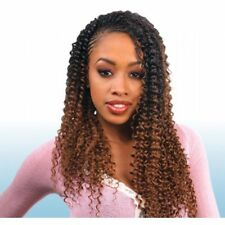 Freetress Braiding Hair Water Wave 22 Inches Braids Bulk Crochet Hair Braids