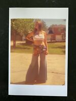 1970's Vintage  Photo~Large  Big Breasts Perfect Body Curvaceous Striking a Pose