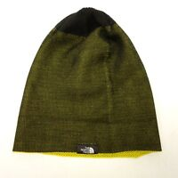 4bd6fac33deea The North Face Reversible Yellow Black Thin Running Beanie Winter Knit Cap  Hat