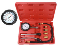 Petrol Engine Small Engine Cylinder Compression Tester,300 PSI with Adapter&Hose