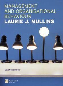 Management and Organisational Behaviour-Laurie Mullins, 9780273688761