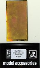 Hauler Models 1/72 ENGRAVED PLATE MODERN A TYPE Photo Etch Set