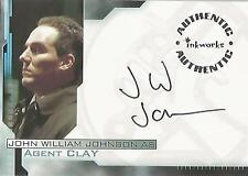 "Hellboy - A4 John William Johnson ""Agent Clay"" Autograph Card + Redemption Card"