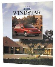 1996 FORD WINDSTAR ORIGINAL USA SALES BROCHURE