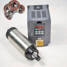ER16 1.5KW AIR-COOLE SPINDLE MOTOR CNC MILL ENGRAVING & 220V INVERTER DRIVE VFD