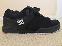 DC Remmus, Men's Skateboarding Shoes, Black / White, Size 10.5, Used / Worn