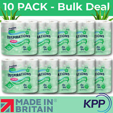 Freedom Inspirations 90 ROLLS ! Premium 3 Ply Scented Toilet Tissue