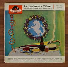"""Single 7"""" Vinyl Im weissen Rössl polydor Querschnitt (Benatzky Gilbert Stollz)"""