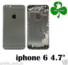 "For iPhone 6 6G 4.7"" Back/Battery Cover Plate Case Housing Replacement Grey"