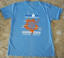 Hawaii Ironman World Championship Triathlon 2009 Adult Medium Light Blue T-Shirt
