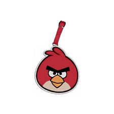 """Angry Bird - """"Big Red"""" I.D. Luggage Tag with Adjustable Buckle"""