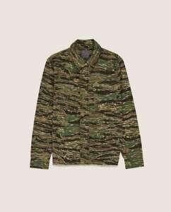 Zara Camouflage Men Overshirt Jacket NEW Size S