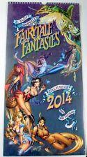 SEXXY 2014 J SCOTT CAMPBELL~ FAIRYTALE FANTASIES 12-Month Calendar Prints SEALED