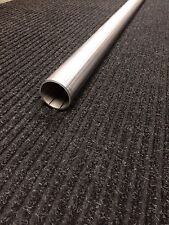 "1 3/4"" Stainless Steel Exhaust Straight Tubing - 1.75"" Outside Diameter 5' Long"