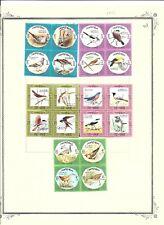 KUWAIT (503) 1973 SG581 - 612 BIRDS 8 BLOCKS OF 4 SET OF 32 VERY MM  / MH