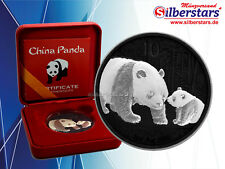 10 Yuan Silber China Panda 2011 Yin Yang  Edition in Box und CoA