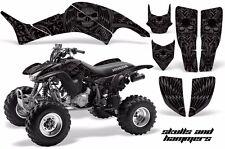 AMR Racing Honda TRX 400 EX Graphic Kit Wrap Quad Decal ATV 1999-2007 HISH BLACK