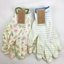 2 Pack Large Garden Gardener Gardening Gloves Yard Nitrile Knit Wrist NWT