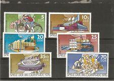 Briefmarken---DDR---1976-----Postfrisch----Mi 2126 - 2131----