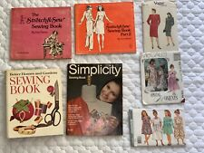Vintage Sewing Books Lot, The Stretch & Sew, Better Homes Journal Ephemera