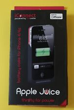 GENUINE Life Works iConnect Apple Juice Battery Case Red iPhone 4/4S Brand New
