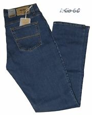 Jeans uomo 46 48 50 52 54 56 58 60 HOLIDAY strech vita alta blu medio MICRON