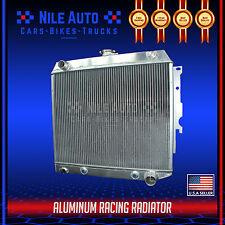 3 ROW TRI CORE RACING FULL ALUMINUM COOLING RADIATOR FOR 62-67 CHEVY II/NOVA