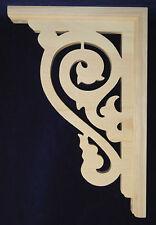 "L&G's Victorian Gingerbread Fretwork Porch /Corner Trim Bracket 12"""