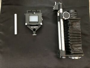 Asahi Pentax Screw Mount Bellows II With 1:4/100 Lens And Slide Copier