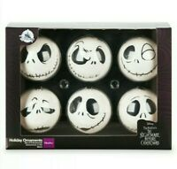 Disney Parks Nightmare Before Christmas Boxed Set Jack Skellington Ornaments New