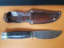Ancien couteau de chasse style Wade & Butcher années 30
