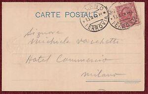 Postcard Milan Milano 1915 Hotel Commercio Italy WWI