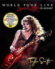 Taylor Swift: Speak Now World Tour Live (Blu-ray Disc, 2011, Canadian) New