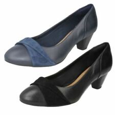 Clarks Leather Heels for Women