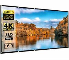 120inch Portable Foldable 16:9 Hd Projector Movies Screen Home Theater Outdoor
