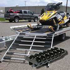 Caliber Snowmobile ramp ski glides, grip glide ramp kit for snowmobile and atv's