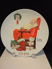 1979 Norman Rockwell 'The Day After Christmas' Plate Mib Lim. Ed. w/ Coa