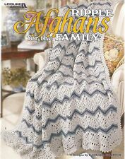Ripple Afghans for the Family Crochet Instruction Patterns Leisure Arts NEW
