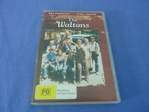 The Waltons DVD 5-Disc Set Complete First Season 1 R4 Free Tracked