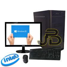 """PC DESKTOP INTEL QUADCORE HDD 1TB / RAM 8GB / WIFI COMPLETO WIN 10 + MONITOR 19"""""""