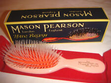 Mason Pearson N4 Pocket Nylon Hairbrush - Pink