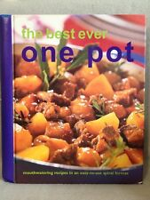 The Best Ever One Pot Recipes Spiral Bound Good Cond. Free Shipping