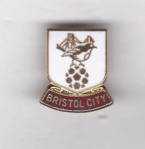 Bristol City  - lapel badge No.2 brooch fitting