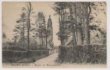 France postcard - Buchy - Route de Rocquemont