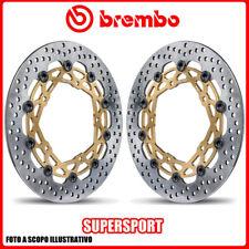 208973710 COPPIA DISCHI FRENO BREMBO SUPERSPORT DUCATI Monster S2R 1000cc 2006>2
