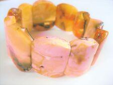 Armband Bernstein, Real Natural Amber, Butterscotch, 41,38 g