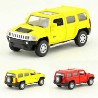 1:43 Hummer H3 Off-road Model Car Alloy Diecast Gift Toy Vehicle Kids Pull Back