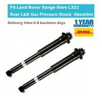 Pair Rear Suspension Shock Absorber Fit Land Rover Range Rove L322 RPD500550