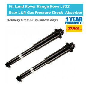 2X Rear Left & Right Suspension Shock Absorbers Fit Range Rove III L322 02-12